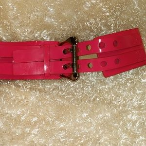 Guess belt in bubble gum pink! SIZE S/M